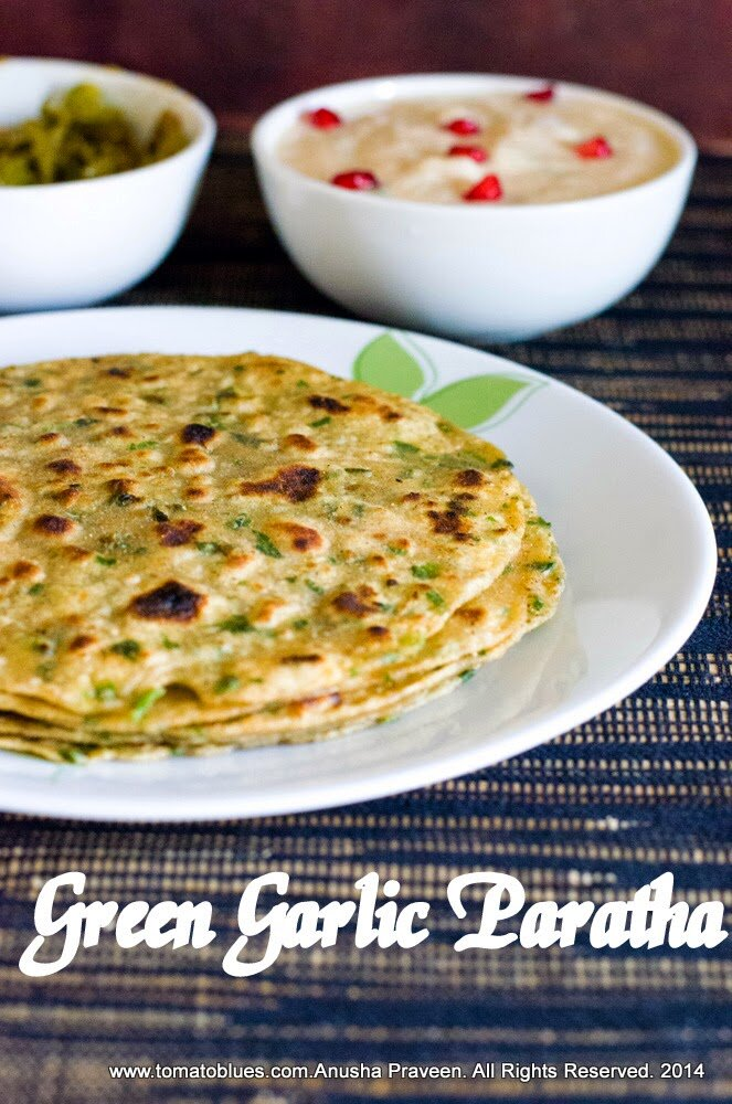Green Garlic Flatbreads