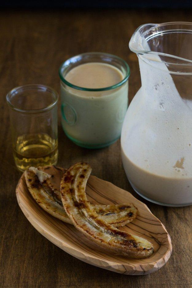Vegan Caramelized Banana & Rum Shake by An Unrefined Vegan