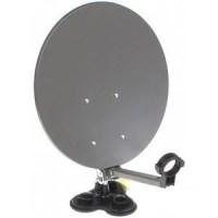 Antena satelit portabilă - ventuze - camping
