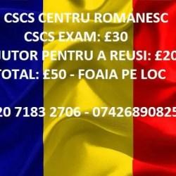 CSCS Ajutor pentru a reusi