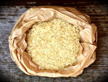 Don't sit on rice