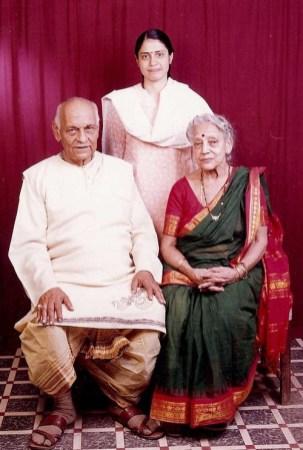 Anupama with Guruji