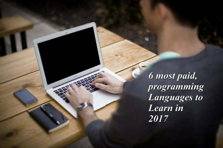 6 most paid programming languages in 2017
