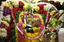 118-Navaratri 2014 – Day 4– Linga Puja-SRI RAMANASRAMAM TIRUVANNAMALAI