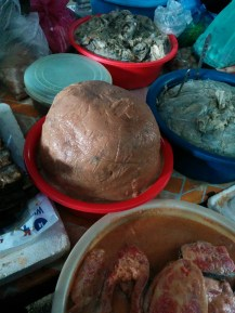 fish paste - part of almost every recipe in Cambodia. crucial.