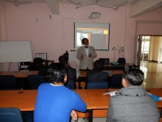 Addressing a two day session on use of ICT in Teaching Learning for Science & Mathematics Teachers at NERIE NCERT Shillong on 2 & 3 December 2015