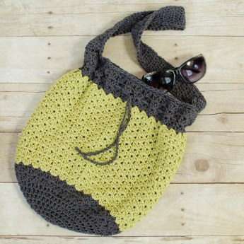 Summer crochet bag - Petals & Picots