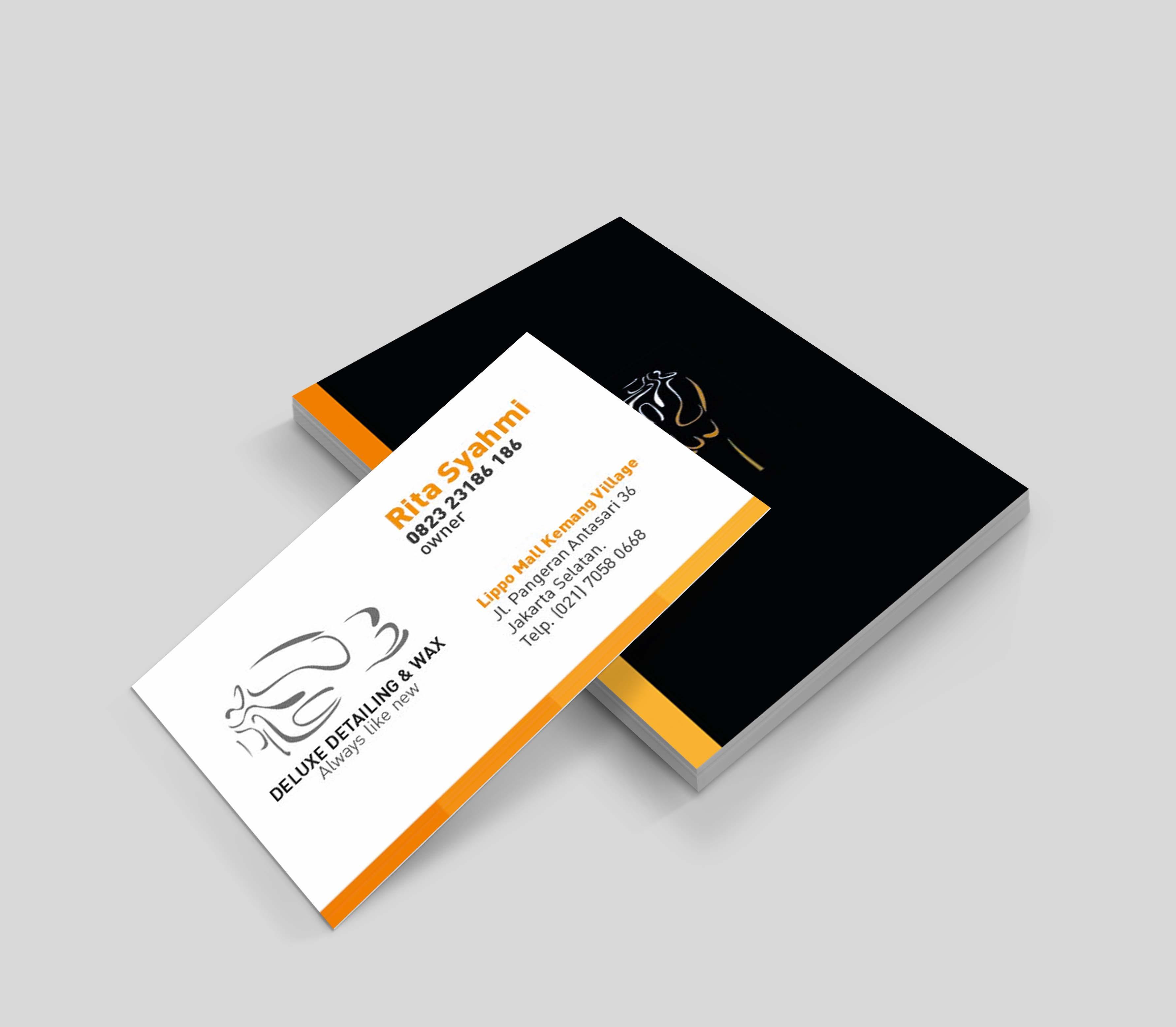 Anve Design  Jasa Desain Kartu Nama Profesional  WA