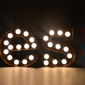 LED Bulb Signage 字母招牌