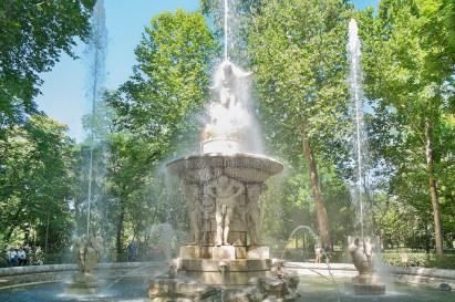 Aranjuez fuente narciso