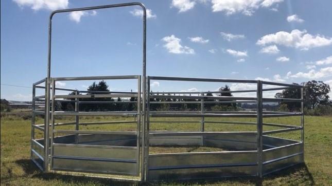 Horse Safe Skirted Rail - Gal Steel (2)