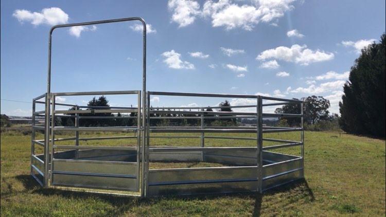 Horse Safe Skirted Rail - Gal Steel (3)