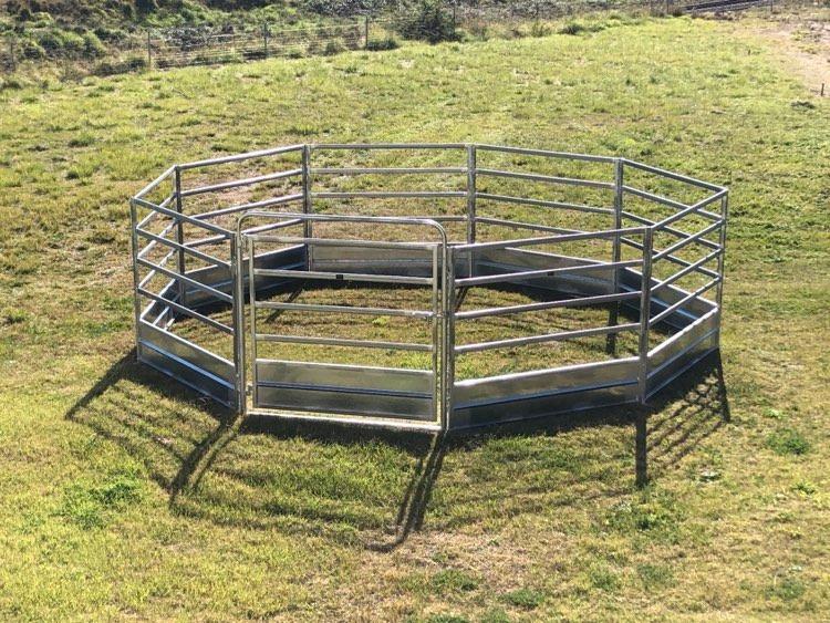 Horse Safe Skirted Rail - Gal Steel (4)