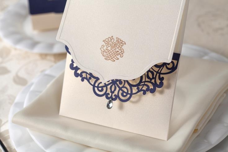 Rhinestone Wedding Invitations