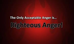 Righteous Anger equals Emotional Handcuffs