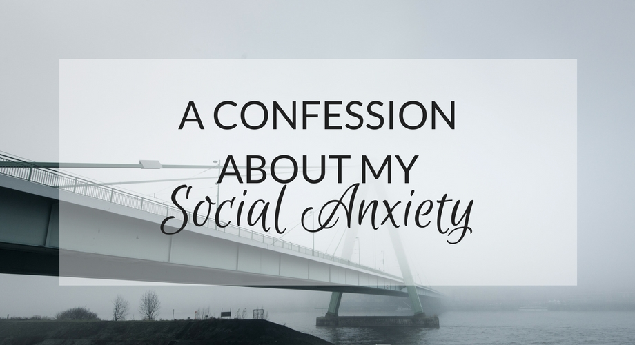 confession about my social anxiety - UK lifestyle blog