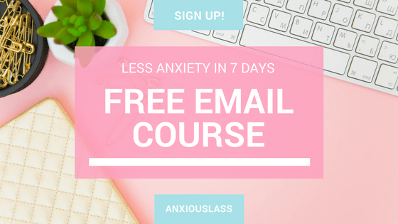 Free email course to reduce anxiety