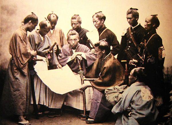 戊辰戦争の志士たち