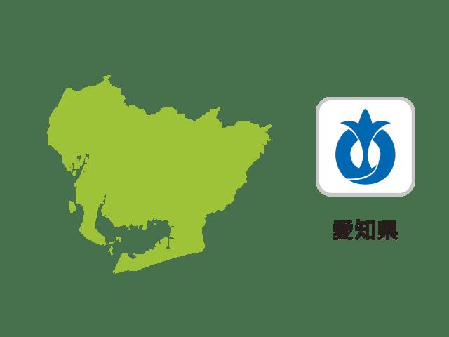 愛知県地図イラスト