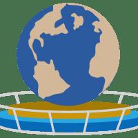 USJのシンボル地球儀