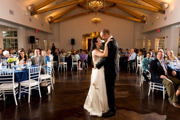 Kevin and Ellery dance Manor House Wedding on June 26, 2016, in Littleton, Colorado.