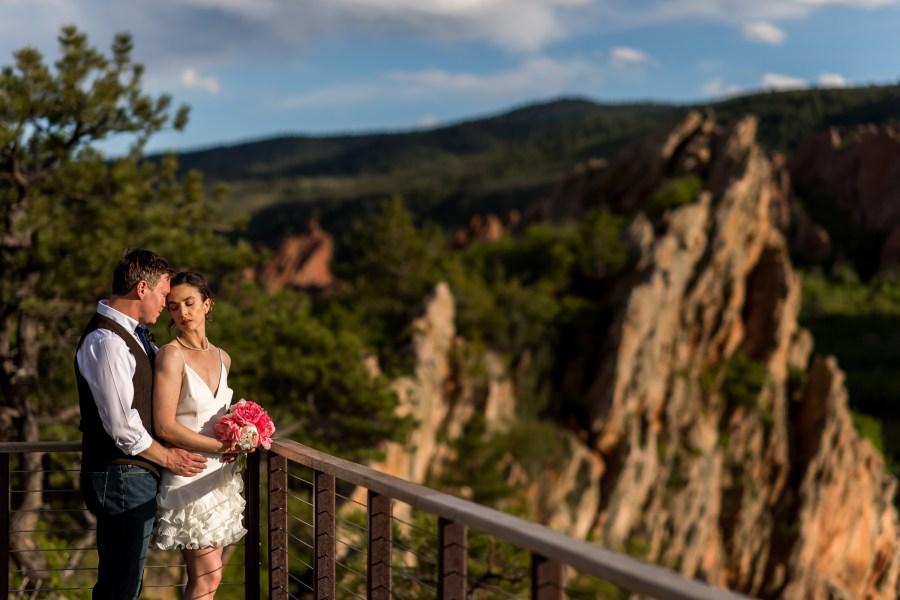 Roxborough State Park Wedding