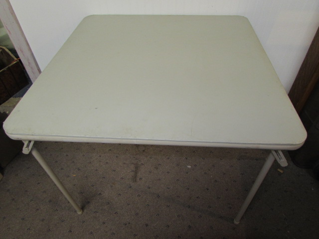 Lot Detail  COSTCO FOLDING CARD TABLE