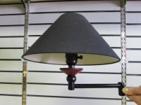 Lot Detail - NICE WALL MOUNT LAMP WITH ADJUSTABLE ARM