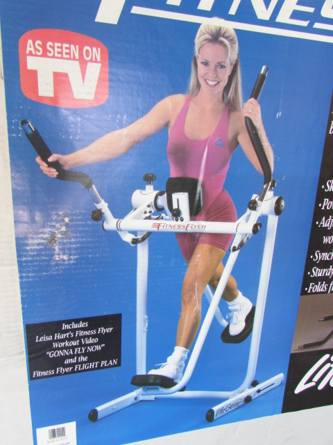 Lot Detail - FITNESS FLYER EXERCISE MACHINE