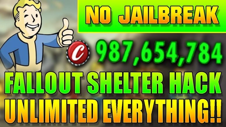 fallout shelter hack pc game