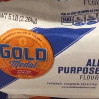bleached white flour
