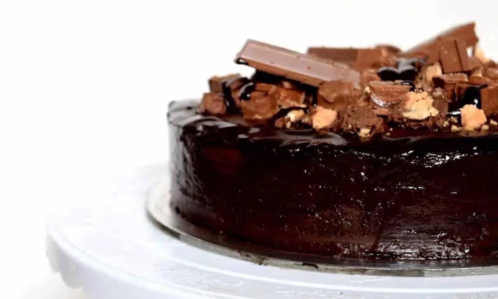 Homemade Death Chocolate Cake Eggless Moist And Whole Wheat