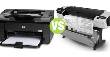 Difference Between Plotter and Laser Printer