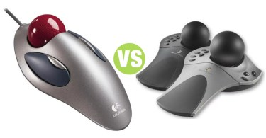 Difference Between Trackball and Spaceball