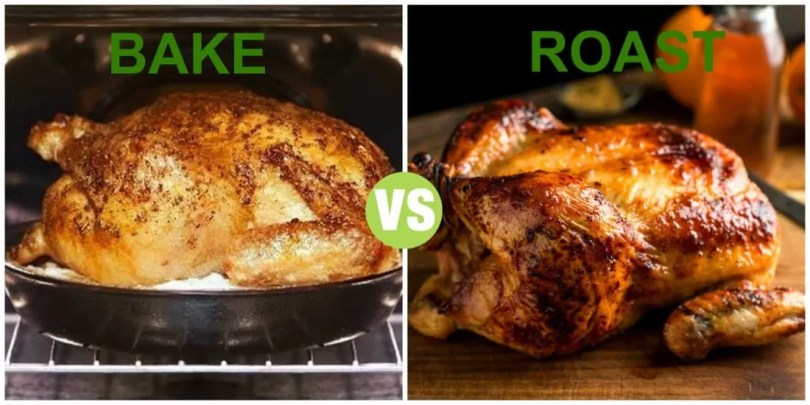 Difference Between Roast and Bake