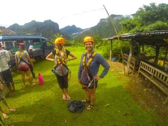 Vang Vieng ziplining