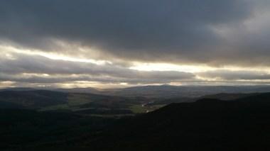 View away towards the Cairngorms