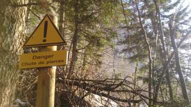This warning made us even more nervous after what we had already seen