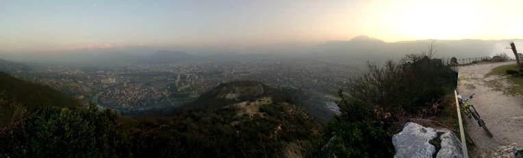 Grenoble From Above La Bastille