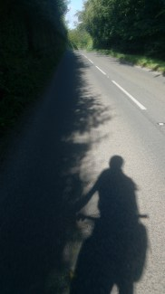 25miles on the road back to the train station after two great days of racing