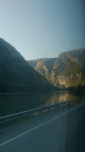 The rivers get bigger as we get closer to the fjord