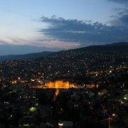 View from Park Princeva restaurant Sarajevo