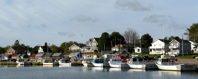 Prince Edward Island boats