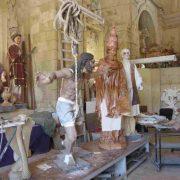 Festival statues Malta