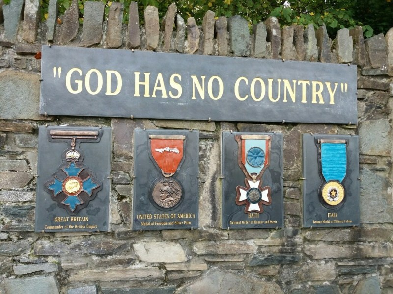 God has no country