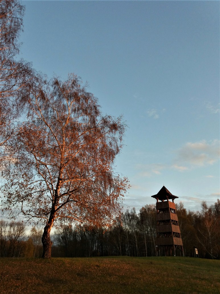 viewing tower on Kányavári sziget