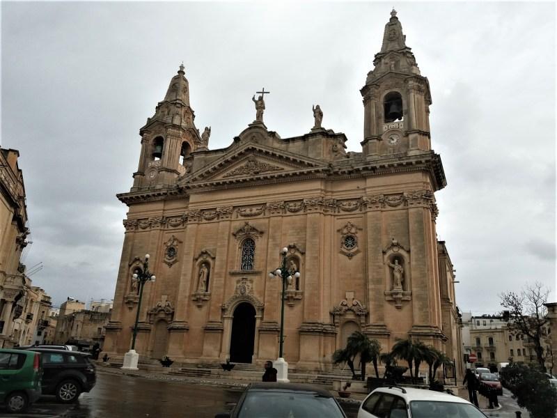 Kefa-Kafe Naxxar Parish Church Malta