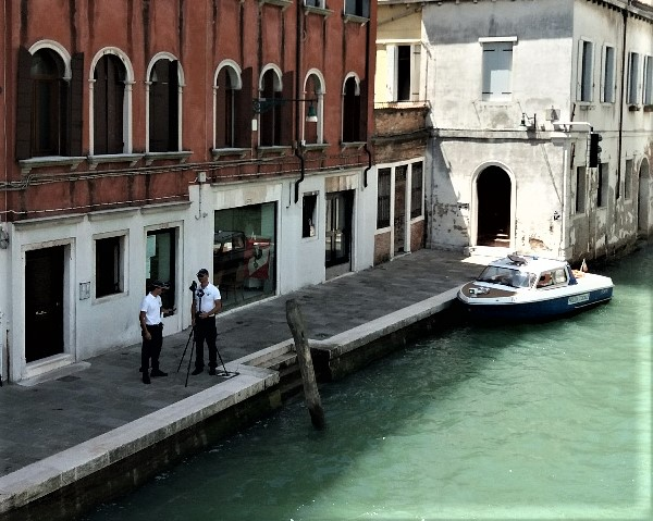 Life on the water in Venice speed trap