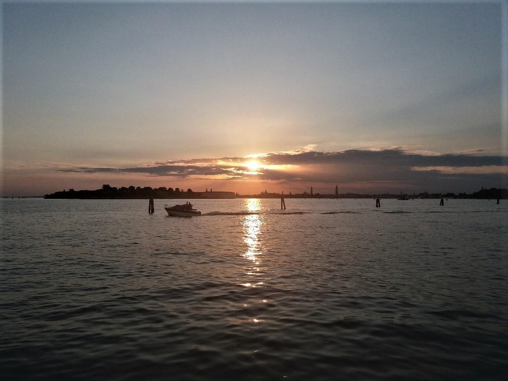 Sunset on Lido