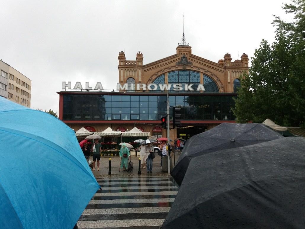 Warsaw markets Hala Mirowska